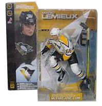 Mario Lemieux Series 2 - Pittsburg Penguins White Jersey Variant