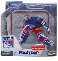 Mike Richter New York Rangers Blue Jersey Variant