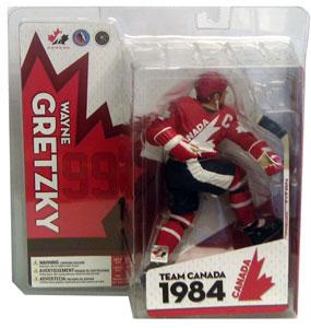 Wayne Gretzky Red Jersey Variant Team Canada
