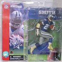 Emmitt Smith Series 1 Blue Jersey Variant [NON-MINT PKG]