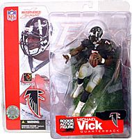 Michael Vick Series 4 Black Jersey Variant