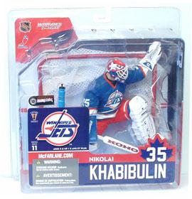 NIKOLAI KHABIBULIN Series 11 - Winipeg Jets