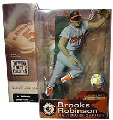 MLB Cooperstown Series 1 - Brooks Robinson - Grey Jersey Variant - Baltimore Orioles