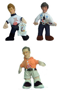 6-Inch Napoleon Dynamite with Sound Set of 3