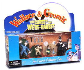 Carrot Collector Set: (Wallace and Gromit)