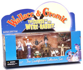 Cauliflower Collector Set: (Wallace and Gromit)
