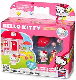 Mega Bloks Hello Kitty - Candy Shop 10820