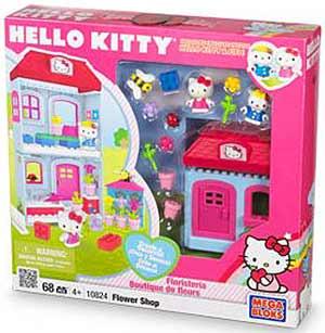 Mega Bloks Hello Kitty - Flower Shop 10824