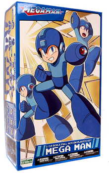 Mega Man Kotobukiya Super Poseable Model Kit - Mega Man