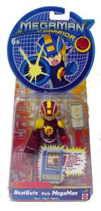 Megaman NT Warrior - HeatGuts Style MegaMan
