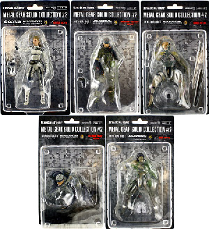 Metal Gear Solid 20th Anniversary Collection Series 2 - Set of 5