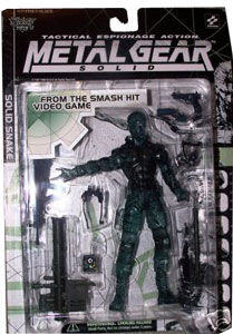 Metal Gear Solid - Clear Solid Snake  Variant