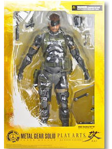 Metal Gear Solid - Play Arts Kay Sneaking Suit Snake