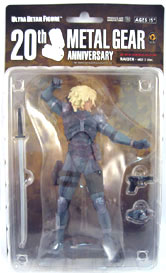 Metal Gear Solid 20th Anniversary - Raiden  MGS2  - OPEN PACKAGE