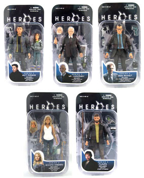 NBC Heroes Series 2 Set of 5