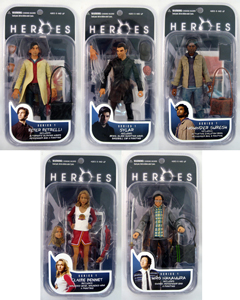 Heroes - Series 1 Set of 5
