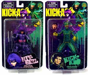 Kick-Ass - Series 1 Set of 2[Kick Ass, Hit Girl]