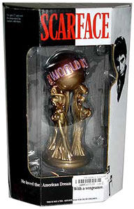 SCARFACE - 10-Inch Replica - World Is Yours Statue