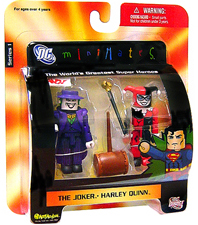 DC Minimates - The Joker and Harley Quinn
