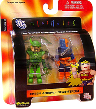 DC Minimates - Green Arrow and Deathstroke