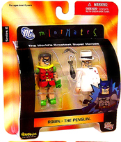 DC Minimates - Robin and The Penguin
