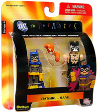 DC Minimates - Batgirl and Bane