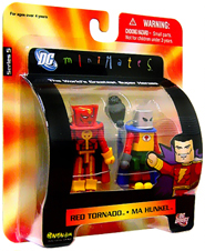 DC Minimates - Red Tornado and Ma Hunkel