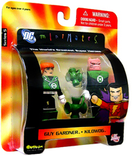 DC Minimates - Green Lantern - Guy Gardner and Kilowog