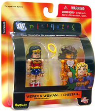 DC Minimates - Battle-Damaged Wonder Woman  and Cheetah