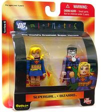 DC Minimates - Supergirl and Bizarro