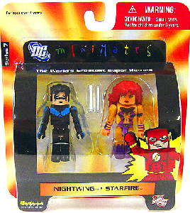 DC Minimates - Nightwing and Starfire