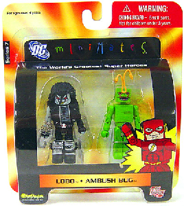 DC Minimates - Lobo and Ambush Bug