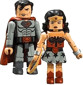 DC Minimates - Red Son - Superman and Wonder Woman