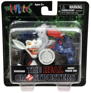 The Real Ghostbusters Minimates - 2-Pack - Boogieman and Energy Terror Dog