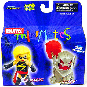 Marvel Minimates - Ms Marvel and Ultron