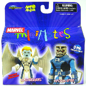 Marvel Minimates - Archangel and Apocalypse