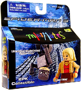 Marvel Minimates - Umasked Black-Suited Spider-Man and Gwen Stacy