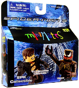 Marvel Minimates - Transformation Spider-Man and Venom