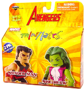 Marvel Minimates - Wonder Man and She-Hulk