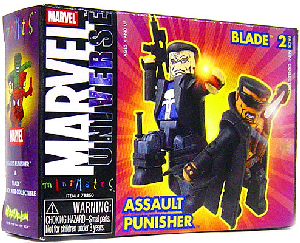Marvel Minimates - Blade and Assault Punisher