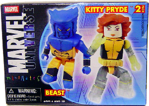 Marvel Minimates - Beast and Kitty Pryde