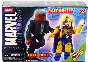 Marvel Minimates - Luke Cage and Long Hair Sentry Variant