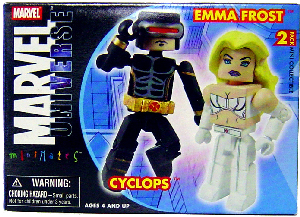 Marvel Minimates - Emma Frost and Cyclops