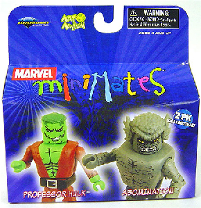 Marvel Minimates - Smart Hulk and Abomination