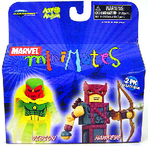 Marvel Minimates - Vision and Hawkeye