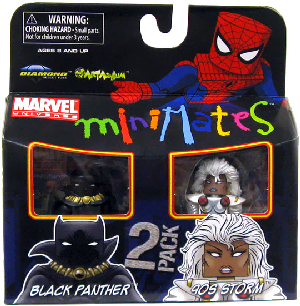 Marvel Minimates - Black Panther and Storm