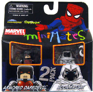 Marvel Minimates - Armored Daredevil and Moon Knight