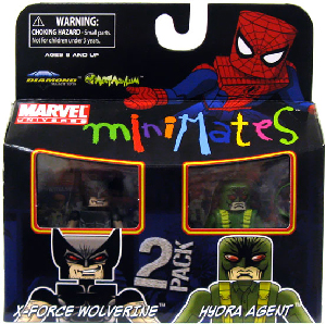 Marvel Minimates - X-Force Wolverine and Hydra Agent