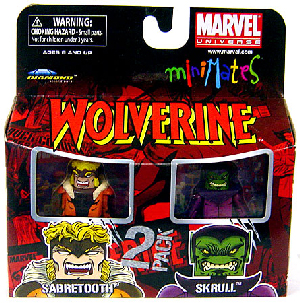Marvel Minimates - Sabretooth and Skrull