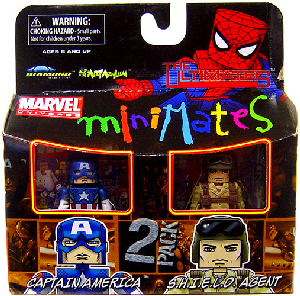 Marvel Minimates - Captain America and Shield Agent